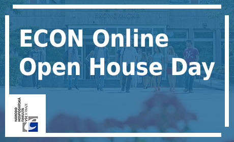ECON Online Open House Day, April 29, 2020, at 4 p.m.